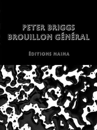 Peter Briggs, couverture du catalogue de l'exposition Brouillon général