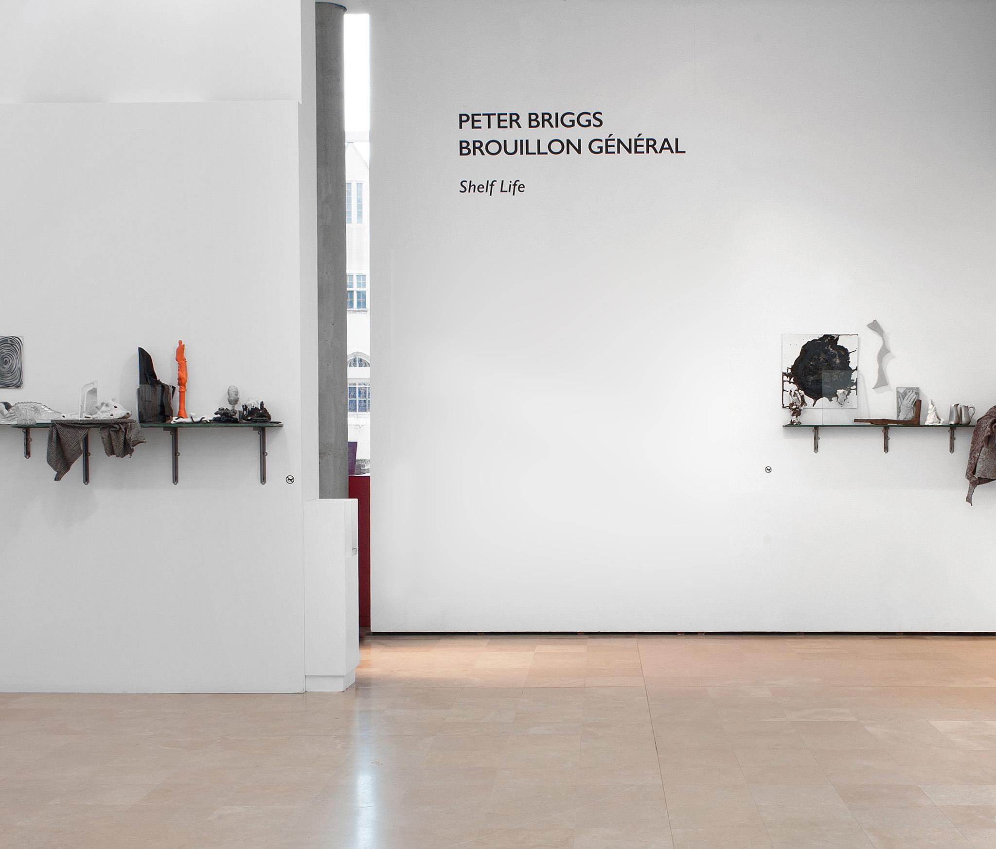 Vue d'exposition Peter Briggs au Musée Saint-Roch d'Issoudun (photo Alberto Ricci)