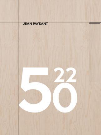 Jean Paysant, 5022, Manifeste pour un atelier d'architecte