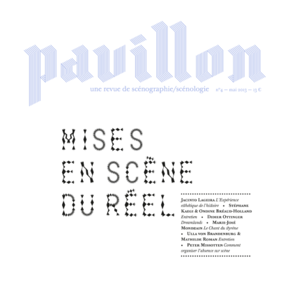 Revue Pavillon numéro 4, revue de scénographie